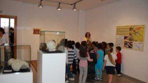 Los primeros grupos de escolares ya han podido visitar la exposición