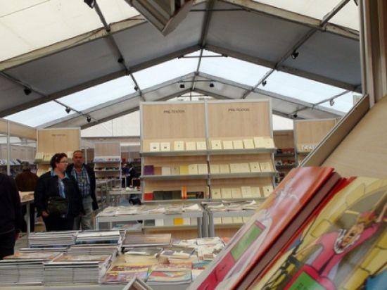 La Carpa, junto con la Pérgola y el Apeadero serán los principales casetas donde se presentarán los libros. /Zaniahgrupotecnico
