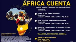 Las jornadas comienzan el próximo viernes y tratarán temas sobre la Deuda Externa que sufre África