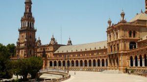 La Plaza de España recuperará en octubre su concepción original, al integrarse en el Parque de María Luisa/Flickr.com