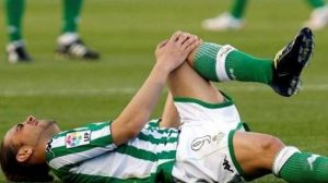 Sergio García, baja sensible para el Betis/realbetis