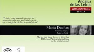 María Dueñas presentará su primer libro de ficción el la Biblioteca Pública Infanta Elena. /SA