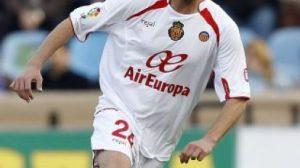 El jugador, vistiendo la elástica del Mallorca/wba.co.uk
