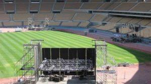 EL Estadio Olímpico tendrá siete escenarios con varios tipos de musica electrónica. /Newsfx