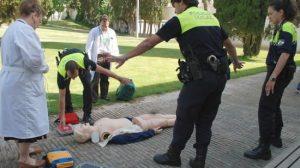 Los cuerpos de seguridad realizan cursos de formación periódicamente
