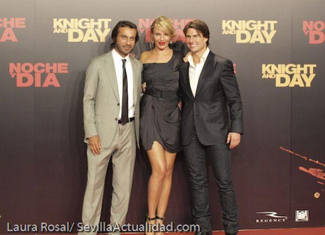 Galería de imágenes del estreno en Sevilla de 'Knight & Day' (Noche y Día). Laura Rosal/SevillaActualidad.com