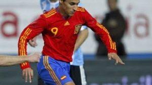 El jugador del Sevilla consiguió su primer gol con la Selección Española