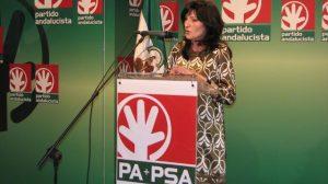 La candidata a la Alcaldía de Sevilla por parte del PA+PSA, Pilar González