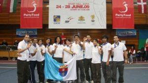 El Soderinsa Rinconada consiguó la medalla de bronce en la Copa de Europa del pasado año en Sofía/