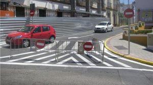 Las calles Alcalá y Ortí han sido cambiadas de sentido a causa de las obras del Plan Centro/PA.