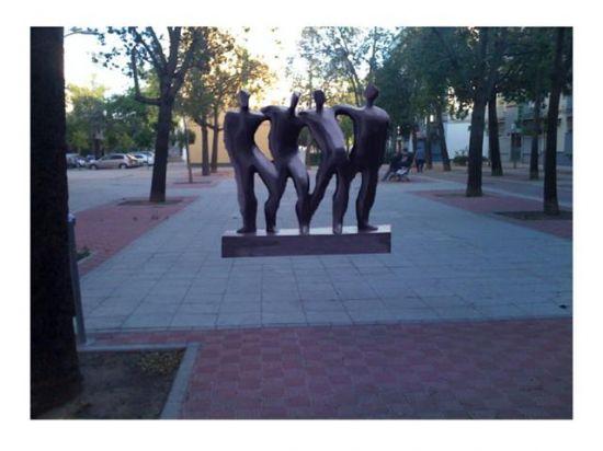 Las esculturas se ubicarán en diferentes plazas del barrio de San Pablo