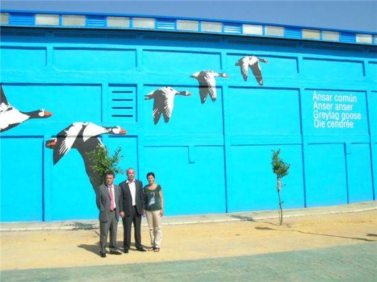 El proyecto ha embellecido algunos edificios de la localidad