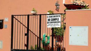 Los vecinos de la urbanización Señorío de Burguillos reclaman desde hace años la mejora de los equipamientos básicos / Juan C. Romero