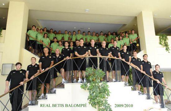 Plantilla del Betis de la pasada temporada / Real Betis Balompié