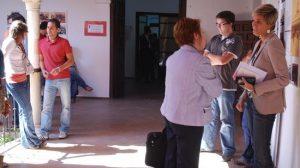 La sede de la UPO en Carmona acoge en verano a cientos de estudiantes universitarios de toda la región