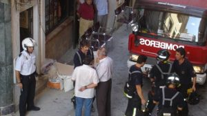 Los andalucistas creen que con 70 bomberos más en la provincia se cubrirían las carencias actuales