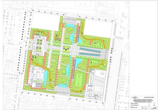 El proyecto de parque de La Ranilla contempla cuatro accesos
