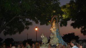 El Cardenal Amigo Vallejo coronó hace diez años a la Virgen del Águila/AyuntAlcalá.