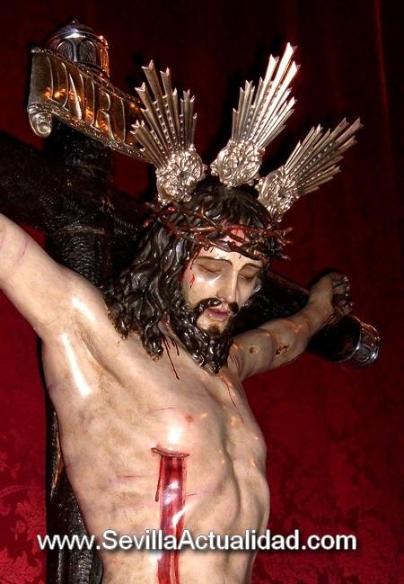 La imagen del Cristo de la Vera Cruz es obra anónima que data del siglo XVIII/Juan C. Romero