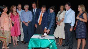 El alcalde de Tomares y el equipo de gobierno inauguraron el pasado miércoles la Feria 2010/Tomares.