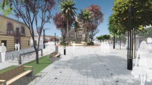 Muchos de los vecinos del centro de Alcalá no están de acuerdo con las obras que se llevan a cabo en sus calles/Alcalá.