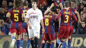 Desde el comienzo, el Barça demostró sus maneras de campeón/Reuters