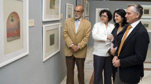 Bernardo Bueno y Paulino Plata en la exposición/SA