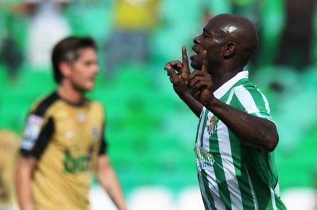 Emaná se está convirtiendo en un jugador muy decisivo para el Betis/Beticos