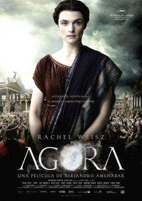 Cartel de la película Ágora, de Alejandro Amenábar