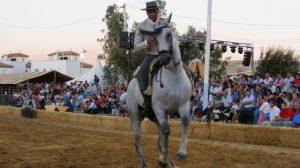 Durante la cita se ha podido disfrutar también del tradicional concurso de Doma Vaquera
