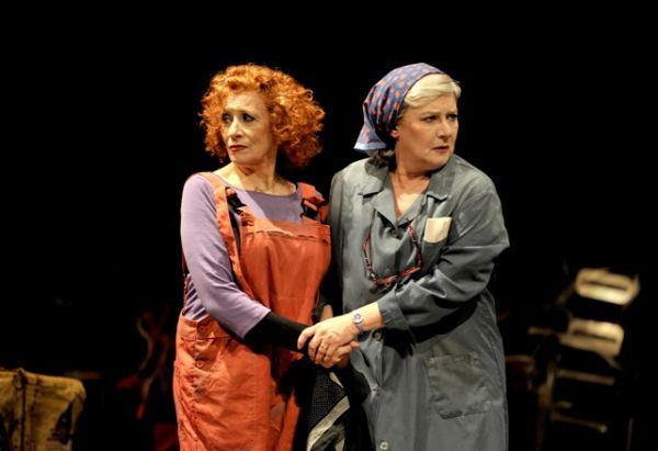 Beatriz Carvajal y Magüi Mira, dos grandes mujeres con mucho talento. /sa