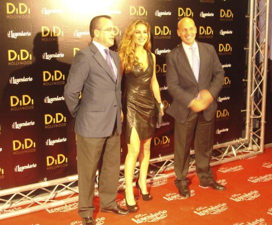 La actriz fue la única del reparto en pisar Sevilla/A. Sánchez Marrón
