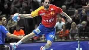 El jugador Juanin García, internacional español/Mvillard