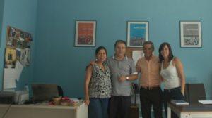 Grupo de investigadores de la UGR dirigido por Rafael López Guzman. /SA