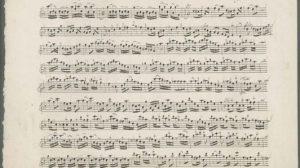 La partitura de II Gran Mogol ha sido declarada obra legítima de Vivaldi y aún no ha sido interpretada en la actualidad /National Archives of Scotland Crown