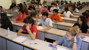 Alumnos de la UPO.