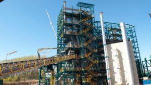 Obras de construcción de la Planta de Desarrollo Tecnológico de captura de CO2