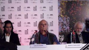 La presentación de la película ha estado a cargo de Farruquito, Carlos Saura y Manolo Sanlucar