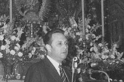 Fernando Cano pronunciando el Pregón de las Glorias/Web del Consejo