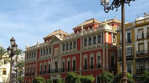 Sede de Cajasol en la Plaza de San Francisco