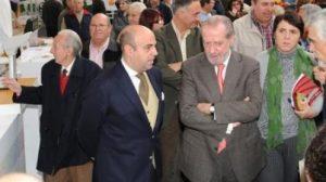 Rodriguez Villalobos en la apertura de la Feria