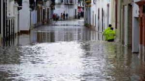 Se trata de la cuarta inundación desde el Puente de la Inmaculada/EFE