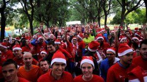 Participantes de la Carrera de Navidad del año pasado/SA