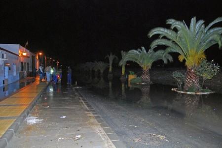 La Vega del Guadalquivir, especialmente Lora del Río y Tocina, han vuelto a sufrir inundaciones por la subida de nivel del río./SA
