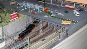 Maqueta de ferrocarriles de Santa Justa/SA