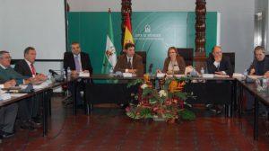 Reunión de la mesa de seguimiento celebrada esta mañana en Sevilla