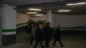 Después del retraso, las obras del aparcamiento de Mendigorría ya han concluido