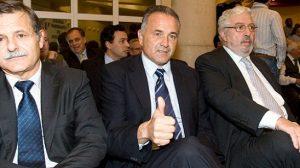 El nuevo Consejo de Administración del Betis con Gordillo en el centro/Rbb
