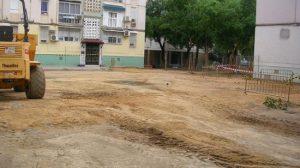 La renovación de la red de saneamiento de la Plaza Aguador de Sevilla es un ejemplo de mejora urbana del Plan 5.000