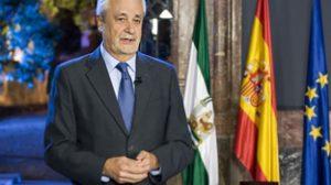 La crisis volvió a centrar el mensaje institucional de Griñán